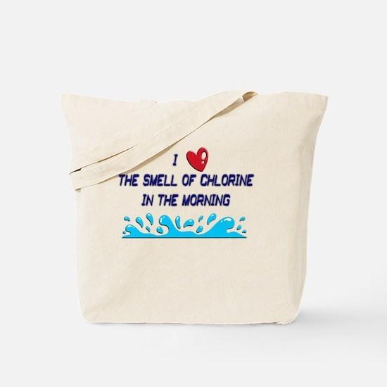 Chlorine in the Morning Tote Bag