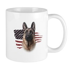 Patriotic German Shepherd Mug