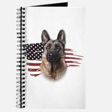 Patriotic German Shepherd Journal
