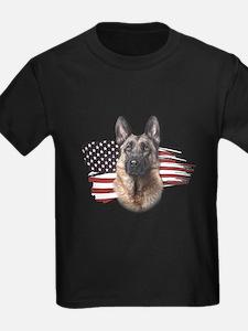 Patriotic German Shepherd T