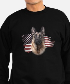 Patriotic German Shepherd Sweatshirt
