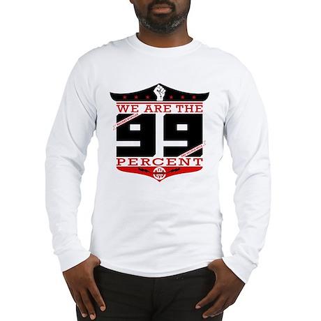 Occupy Wall Street Crest Long Sleeve T-Shirt