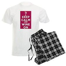 Wine On Pajamas