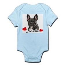 Love Frenchies - Brindle Infant Bodysuit
