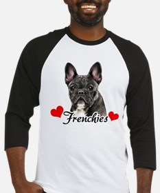 Love Frenchies - Brindle Baseball Jersey