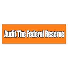Audit the Federal Reserve Bumper Sticker