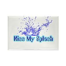 Kiss My Splash Rectangle Magnet (100 pack)