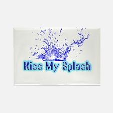 Kiss My Splash Rectangle Magnet (10 pack)