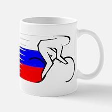 Track Cycling - Russia Mug