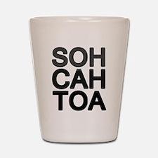 'Soh Cah Toa' Shot Glass