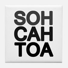 'Soh Cah Toa' Tile Coaster