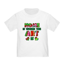 'Home Is Where The Art Is' T