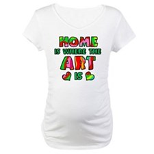 'Home Is Where The Art Is' Shirt