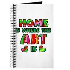 'Home Is Where The Art Is' Journal
