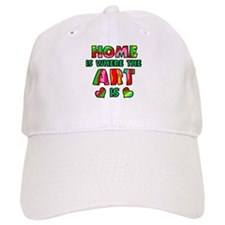 'Home Is Where The Art Is' Hat