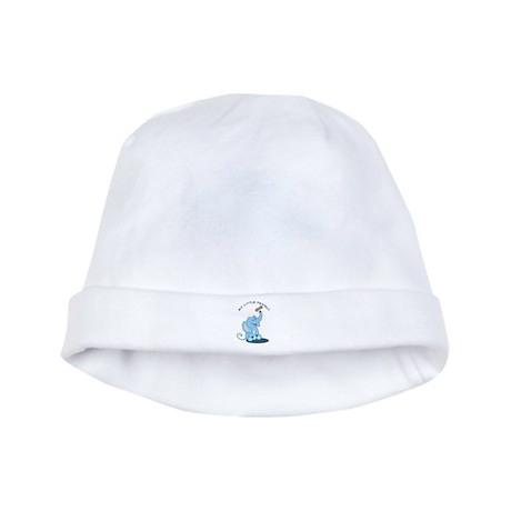 My Little Peanut baby hat - Blue