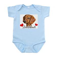 Love Dachshunds Infant Bodysuit