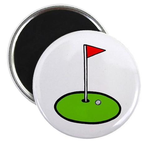 'Golf Green' Magnet