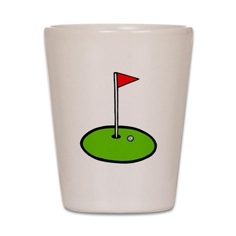 'Golf Green' Shot Glass