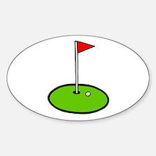 'Golf Green' Decal