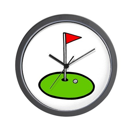 'Golf Green' Wall Clock