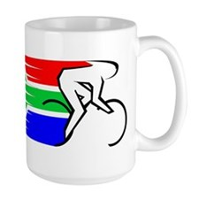 Track Cycling - South Africa Mug