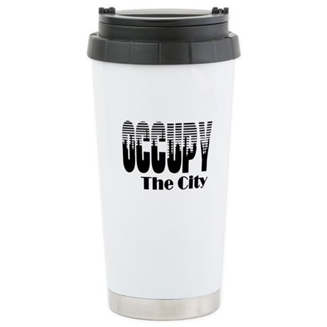 Occupy The City: Stainless Steel Travel Mug