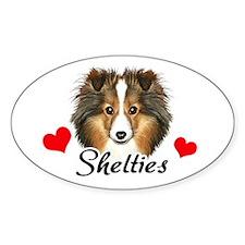 Love Shelties Decal