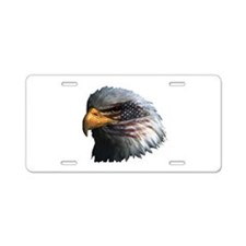 USA Eagle Aluminum License Plate