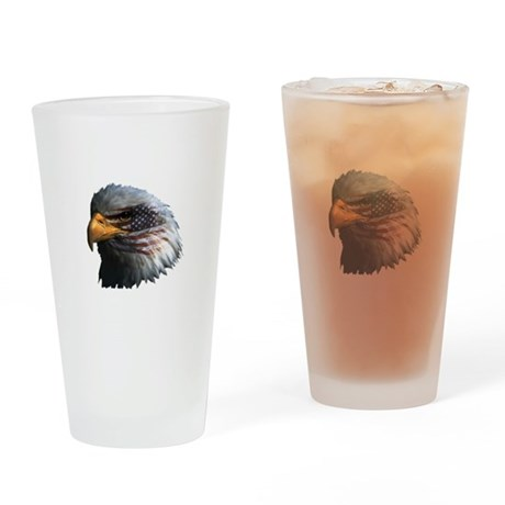 USA Eagle Drinking Glass