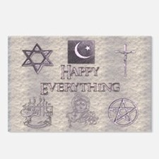 Happy Everything Postcards (Package of 8)