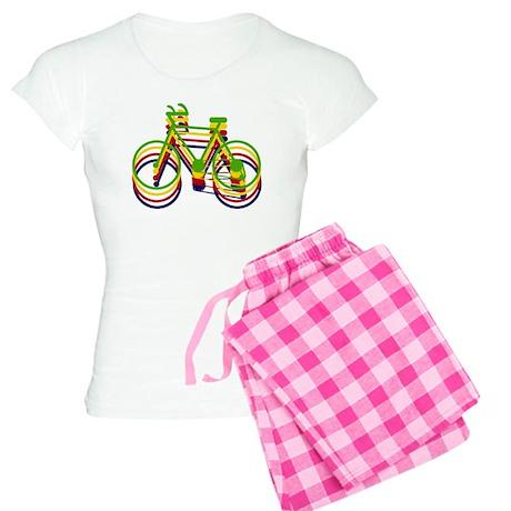 'Bicycles' Women's Light Pajamas