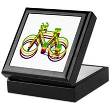 'Bicycles' Keepsake Box