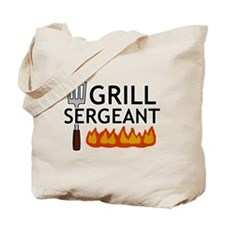 'Grill Sergeant' Tote Bag