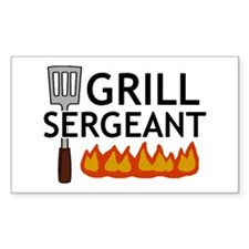 'Grill Sergeant' Decal