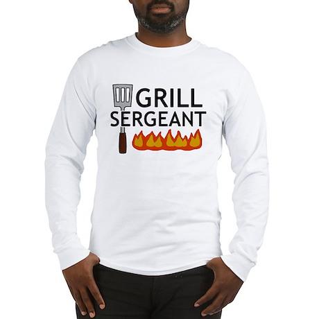 'Grill Sergeant' Long Sleeve T-Shirt