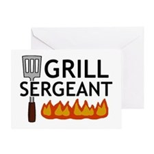 'Grill Sergeant' Greeting Card