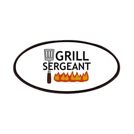 'Grill Sergeant' Patches