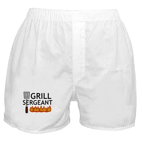 'Grill Sergeant' Boxer Shorts