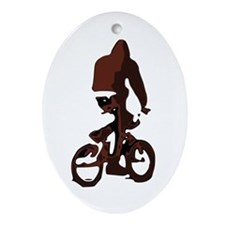 BikeTrix Ornament (Oval)