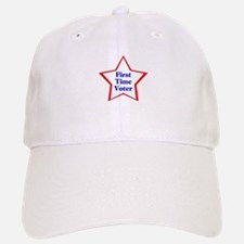 First Time Voter Star Baseball Baseball Cap