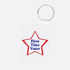 First Time Voter Star Keychains