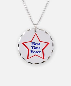 First Time Voter Star Necklace
