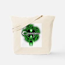 Funny Creeper Tote Bag