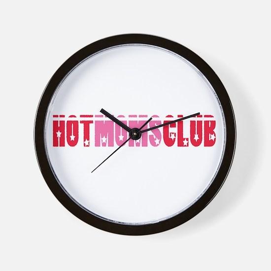 HOT MOMS CLUB Wall Clock