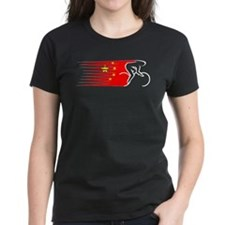 Track Cycling - China Tee