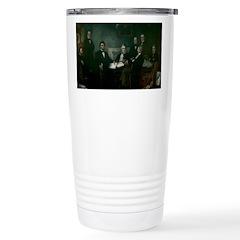Abe Lincoln & Emancipation Proclamation Travel Mug