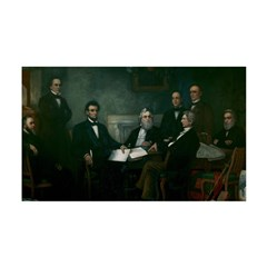 Abe Lincoln & Emancipation Proclamation 38.5 x 24.