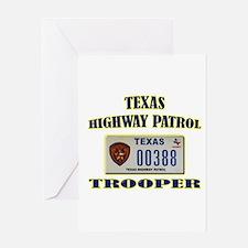 Texas Highway Patrol Greeting Card