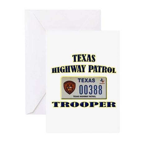 Texas Highway Patrol Greeting Cards (Pk of 10)